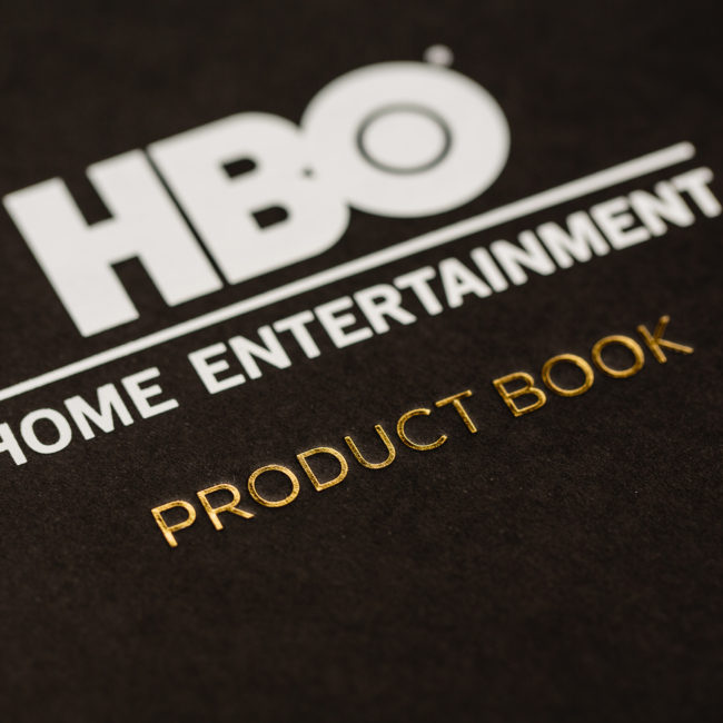HBO Home Entertainment Product Book